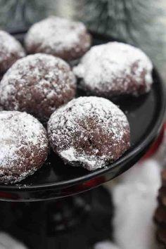 Low Carb Keto, Christmas Cookies, Chocolate, Breakfast, Desserts, Food, Brownies, Muffins, Powdered Sugar