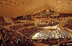 Interior of Berlin Philharmonic