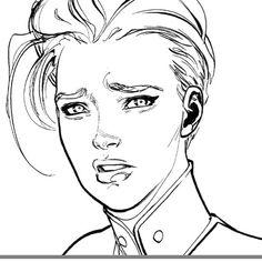 #captainmarvel #caroldanvers #marvel #comics #civilwarII #deskshot #wip…