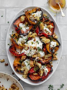 Vegetarian Recipes, Cooking Recipes, Healthy Recipes, Grilling Recipes, Vegetarian Tapas, Vegetarian Grilling, Healthy Grilling, Grilled Peppers, Roasted Red Peppers