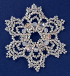 NEW pattern available - Snowflake #86 Ornament Pattern