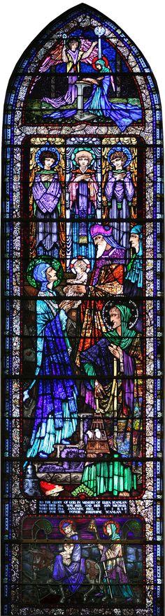 Harry Clarke Window in Killaloe Church  This was my church when I lived in Ireland