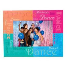 Dance Paper Frame with name meaning on artwork paper of your choice.