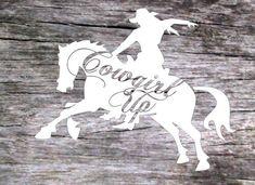 Truck Decals, Vinyl Decals, Dark Colors, Light Colors, Cricut Stencils, Cute Presents, Horse Shirt, Cricut Craft Room, Cowgirls