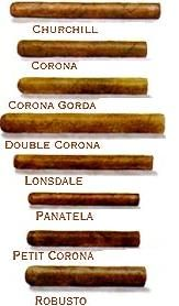 cigar shapes parejos