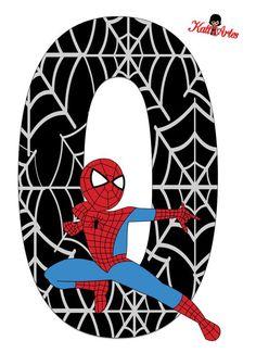 Resultado de imagen para letras de spiderman