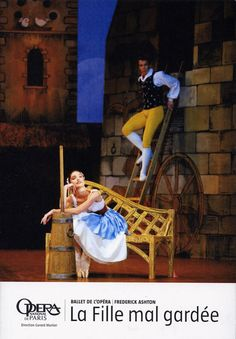 Poster for La Fille Mal Gardee, 2007. They are performing it again this season!