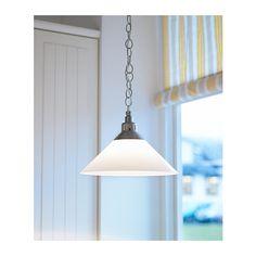 149:-  To over kjøkkenbenk og/eller to over spisebord  KROBY Taklampe IKEA Enkelt å tilpasse høyden,  Kjøpt.