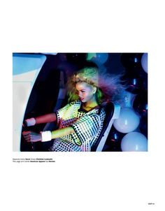 hmm strange but cool. Frida Aasen is an Arcade Star for Exit S/S 2013 by Aitken Jolly | Fashion Gone Rogue: The Latest in Editorials and Campaigns