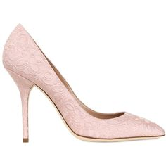 DOLCE & GABBANA 105mm Floral Brocade Pointed Toe Pumps - Pink (3,640 CNY) ❤ liked on Polyvore featuring shoes, pumps, heels, dolce & gabbana, high heels, pink, pink high heel pumps, pointed toe high heel pumps, floral shoes and pink pointed toe pumps