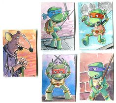 TMNT sketch cards!