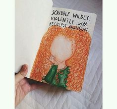 Wreck this journal, scribble widley with wreckless abandon, Disney, Brave inspried...♥