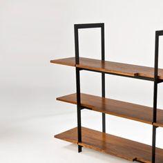 Stylo Furniture & Design Wood & Steel Shelving Unit | 2Modern Furniture & Lighting