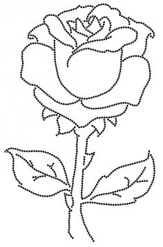 Rose Drawing Rose Drawings , but also Paintings and Prints Glass Painting Patterns, Glass Painting Designs, Fabric Painting, Paint Designs, Painting Flowers, Hair Painting, Rose Coloring Pages, Coloring Pages For Girls, Coloring Books