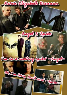 Angel And Spike.  from season 5 of Angel the series.