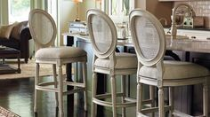 Ludlow Bar and Counter Stools - Frontgate