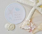 Wedding Coasters / Thank You for Sharing our Day paper coasters