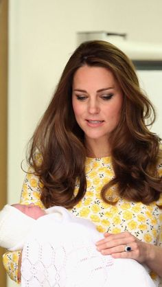 The Duchess exiting with her princess. How perfect is she!