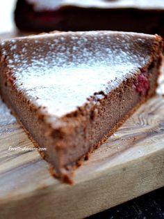 Le fameux gâteau fondant au chocolat et à la ricotta sans farine (Sans gluten)