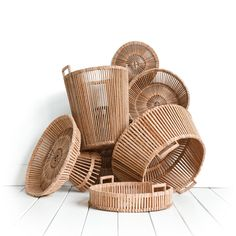 Traza #world #design verkoopt unieke en #ambachtelijke spullen vanuit de hele #wereld zoals deze #houten #manden