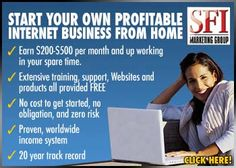 Home business enthusiasts around the world make money online every day in many ways. Here are 3 top ways to earn real Internet income, all in one opportunity.