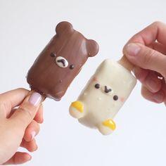 Rilakkumar cake pops by Sydney desserts , Australia (@bakedbyandres)