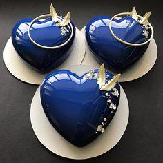 Синие сердца для любимых мужчин