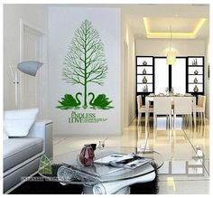 Top Design Endless Love Quote & Swan Lake Wall Art Sticker - PD506  http://www.infinitywallart.com/top-design-endless-love-quote-swan-lake-wall-art-sticker-pd506.html