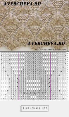 - a grouped images picture - Pin Them All Knitting Stiches, Crochet Stitches Patterns, Knitting Charts, Free Knitting, Stitch Patterns, Diy Crafts Knitting, Diy Crafts Crochet, Crochet Wool, Couture