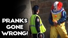 """"""" PRANKS GONE WRONG! - Funny Pranks and Prank Fails from April Weekly selection includes IT Pennywise prank, melon heads, Work pranks. Funny Texts Crush, Funny Text Fails, Epic Fail Pictures, Funny Pictures, Good Clowns, Scary Clowns, Work Pranks, Funny Vines, Funniest Vines"""