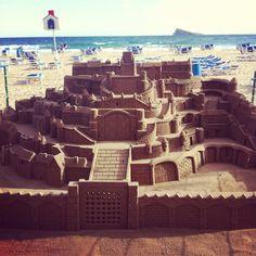 Sand Castle, Benidorm, Spain