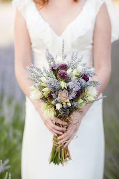 35 best Lavender Bridal Bouquets images on Pinterest in 2018 ...