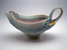 Rosenfield Collection   Gravy Boat.. Deborah Schwartzkopf