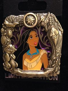 Pocahontas Pocahontas WDI 3D Stained Glass Beautiful Le 300 Disney Pin | eBay