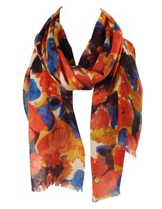 cleo - Floral Watercolour Scarf