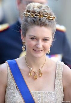 PHOTOS - La princesse Stéphanie de Luxembourg au mariage de la princesse…