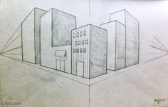 How to Draw - Study: Lessons in Perspective for Comic / Manga Panel Design Reference ♣ 2 Point Perspective Drawing, Perspective Images, Architect Design House, 7th Grade Art, Vanishing Point, Comic Drawing, Architecture Drawings, Design Reference, Art Education
