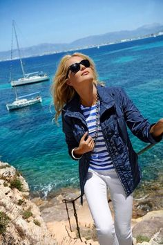 Summer Jacket from the Barbara Lebek 2013 Collection.  Click the pic to find it in our online shop.