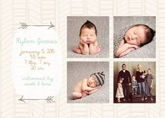 INSTANT DOWNLOAD Custom Photo Birth by DistrictNineDesign on Etsy