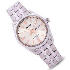 Casio Quartz, Mens Watch Brands, Casio Watch, Stainless Steel Case, Quartz Watch, Bracelet Watch, Watches For Men, Crystals, Store