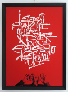 EN CLOUDS exhibition - Treviso 27-11/10/2013 by Luca Barcellona, Italy - Calligraphy & Lettering Arts on Flickr (cc)