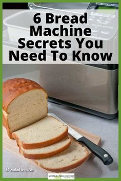 You may not find these tips in the manual, but they are important to know about if you hope to make successful bread with a bread machine.