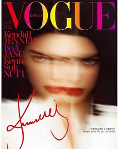 Kendall Jenner for Vogue Korea March 2018 | Art8amby's Blog
