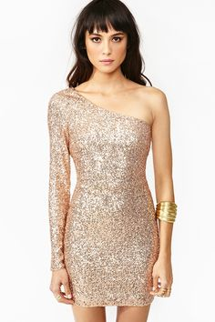 High Shine Dress.... If i had the body for it, i'd be definitely wearing this to my work christmas party!