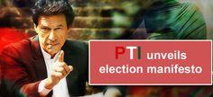 Imran Khans PTI announces party manifesto