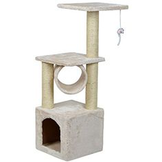 """36"""" Deluxe Cat Tree Condo Furniture Scratcher Scratching Post Pet House Play Toy *** See this great product. (This is an affiliate link) #CatActivityTrees"""