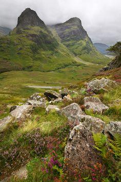 Glencoe, Scotland (by  Damian Kane)