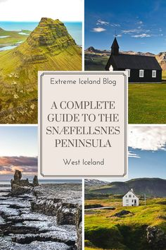 Guide to the Snaefellsnes peninsula West Iceland