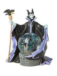 Disney Villains Sleeping Beauty Maleficent Water Globe from Hot Topic. Saved to Disney ✨🎀👑. Disney Home, Disney Art, Disney Movies, Disney Pixar, Disney Bound, Sleeping Beauty Maleficent, Disney Maleficent, Disney Villains, Water Globes