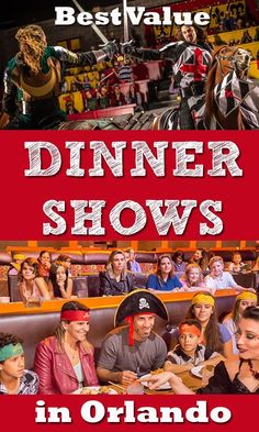 Looking for the best value Dinner Shows in Orlando?  Have a look at this article with prices and what's included in a handy list.  Best family friendly dinner shows in Orlando Florida. #orlando #dinnershows #tipsandtricks